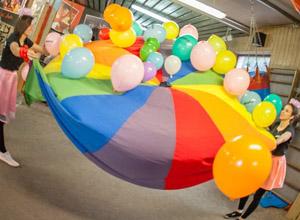 Animacje z balonami dla dzieci Szczecin