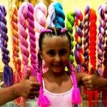 Kolorowe warkoczyki dla dzieci, organizacja imprez Szczecin