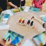 Malowanie na wodzie dla dzieci - warsztaty edukacyjne Szczecin