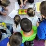 Malowanie na wodzie - warszataty dla dzieci Szczecin