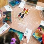 Malowanie na wodzie - warsztaty, zajęcia dla dzieci Szczecin