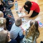 Sztuka malowania na wodzie dla dzieci - atrakcje Szczecin