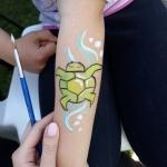 Malowanie buziek i tatuaży Żółwie Ninja Szczecin