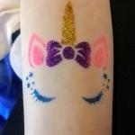 Tatuaże brokatowe na urodziny dla dzieci Szczecin