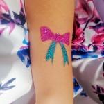 Tatuaże brokatowe dla dziewczynek Szczecin