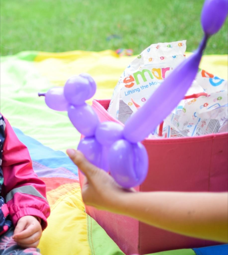 Modelowanie baloników - animacje dla dzieci Szczecin